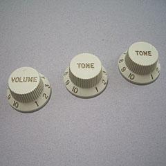 GuitarSlinger Strat 1xVol/2xTone, Mint « Pot Knob