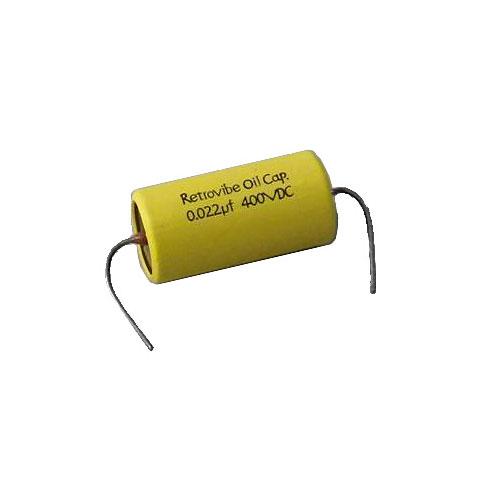 Condensador GuitarSlinger Retrovibe 0.022µfd Oil Capacitor
