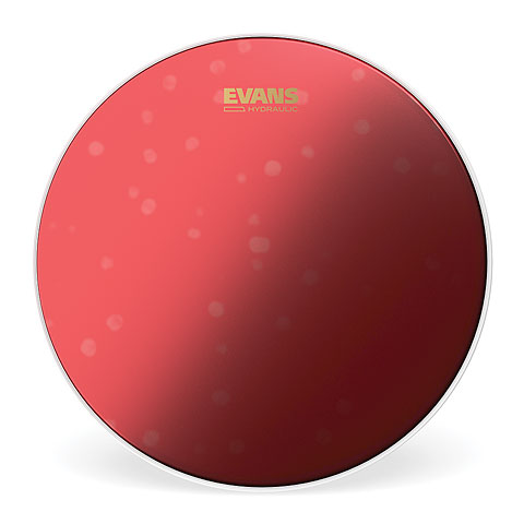 """Evans Hydraulic Red Coated 14"""" Tom / Snare Head"""