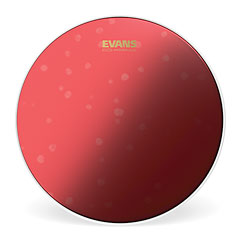 "Evans Hydraulic Red Coated 14"" Tom / Snare Head « Tom-Fell"