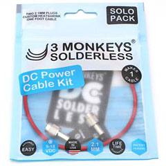 3 Monkeys Solderless 3 Monkeys Solderless DC Kabel Set