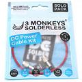 Alimentation/câble 3 Monkeys Solderless DC Cable Set