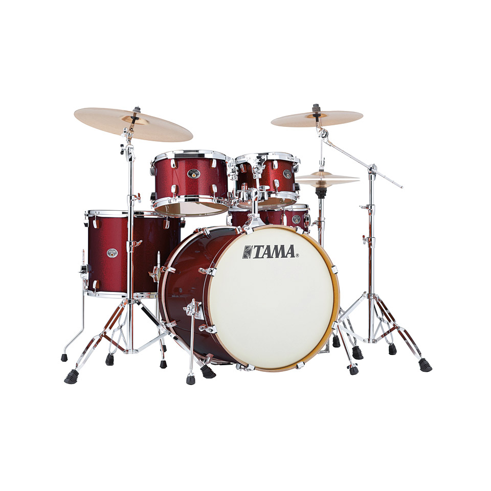 Tama Silverstar 22 Dark Red Sparkle 10109674 Drum Kit
