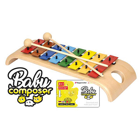 Glockenspiel Voggenreiter Baby Composer (App) mit Glockenspiel