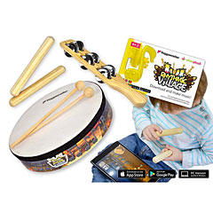 Voggenreiter Rhythmic Village Percussion-Set inkl. App « Percussie set