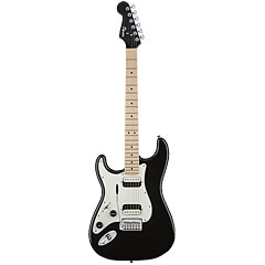 Squier Contemporary Strat Lefthand HH BLK MET  «  Guitare gaucher