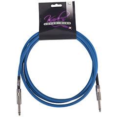 Karl's Laser-Wire 3m K/K neon blau « Instrumentenkabel