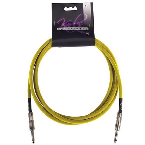 Karl's Laser-Wire 6m K/K neon gelb