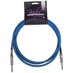 Karl's Laser-Wire 6m K/K neon blau « Instrumentenkabel