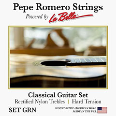 Pepe Romero Strings GRN « Classical Guitar Strings