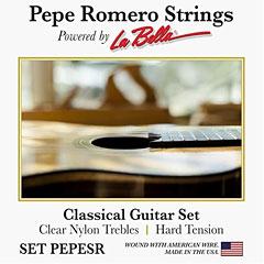 La Bella Pepe Romero Set PEPESR « Klassieke Gitaar Snaren
