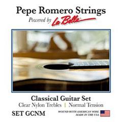 La Bella Pepe Romero Set GCNM « Klassieke Gitaar Snaren