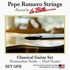 La Bella Pepe Romero Set GFH « Klassieke Gitaar Snaren