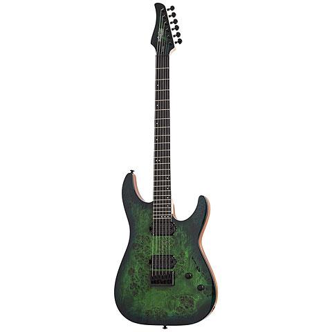 Schecter C-6 Pro AQB « Electric Guitar