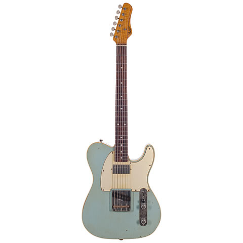 Haar Traditional T aged, Sonic Blue « Electric Guitar