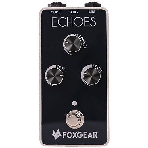Pedal guitarra eléctrica Foxgear Echoes