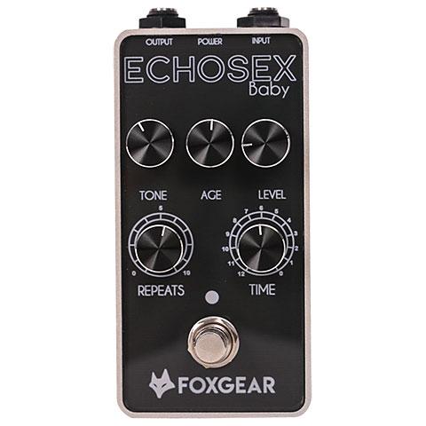 Pedal guitarra eléctrica Foxgear Echosex Baby