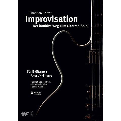 Lehrbuch Tunesday Improvisation - Der intuitive Weg zum Gitarren-Solo