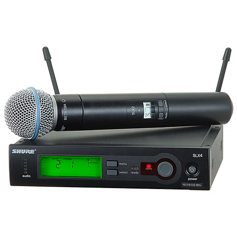 Micrófono inalámbrico Shure SLX24/Beta58 S6