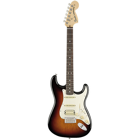 Fender American Performer Strat RW HSS 3TSB « Guitare électrique