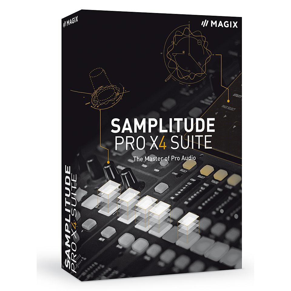 Resultado de imagen para MAGIX Samplitude Pro X4