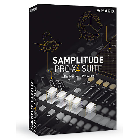 Software DAW Magix Samplitude Pro X4 SUITE D EDU