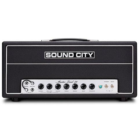 Cabezal guitarra Sound City Master Lead 50