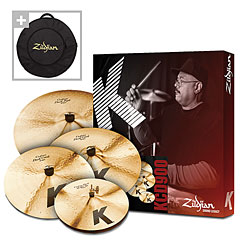 Zildjian K Custom Dark Box 14/16/18/20 + Cymbalbag for free « Cymbal-Set