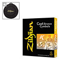 Becken-Set Zildjian K Cymbal Set 14HH/16C/18C/20R + Cymbalbag for free