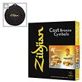 Cymbal Set Zildjian K Custom Hybrid Becken-Set 14,25HH/16C/18C/20R + Cymbalbag for free