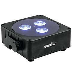 Eurolite AKKU Flat Light 3 sw « Accuindicatie