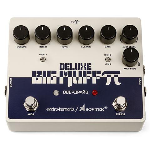 Pedal guitarra eléctrica Electro Harmonix Sovtek Deluxe Big Muff PI