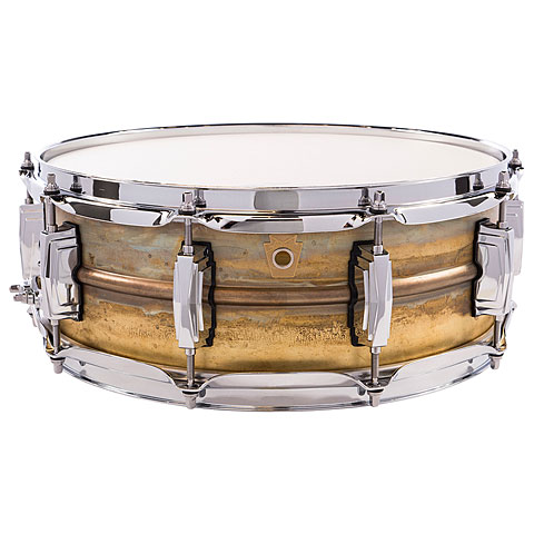 """Caisse claire Ludwig Raw Brass Phonic 14"""" x 5"""""""