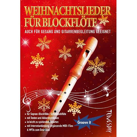 Tunesday Weihnachtslieder für Blockflöte