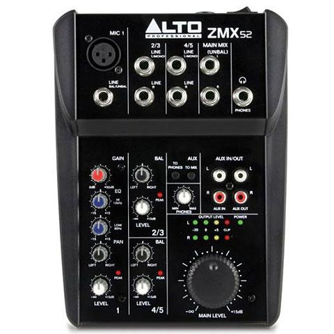 Console de mixage Alto ZMX52