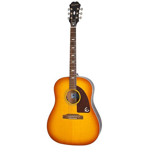 Guitarra acústica Epiphone Peter Frampton 1964 Texan FVB Premium Outfit