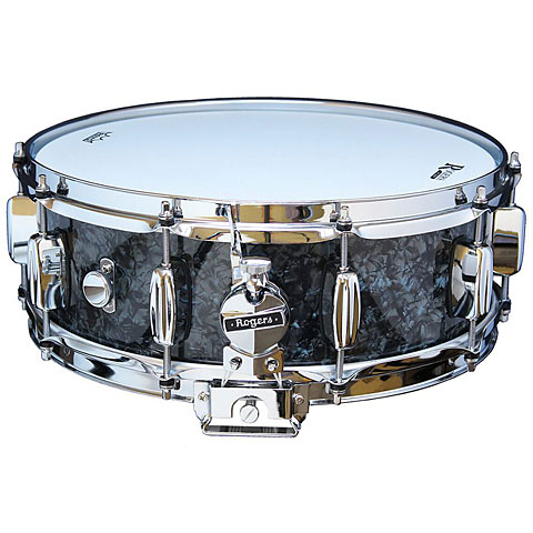 "Snare Drum Rogers Dyna-Sonic 14"" x 5"" Model 32 Snare Drum Black Diamond Pearl"