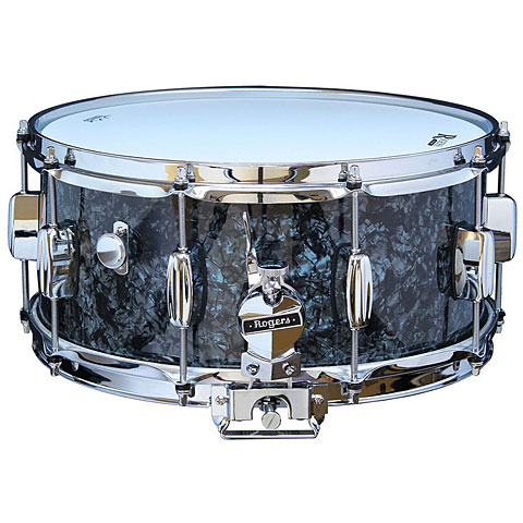 "Rogers Dyna-Sonic 14"" x 6,5"" Model 33 Snare Drum Black Diamond Pearl"
