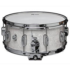"Rogers Dyna-Sonic 14"" x 6,5"" Model 33 Snare Drum White Marine Pearl « Snare Drum"