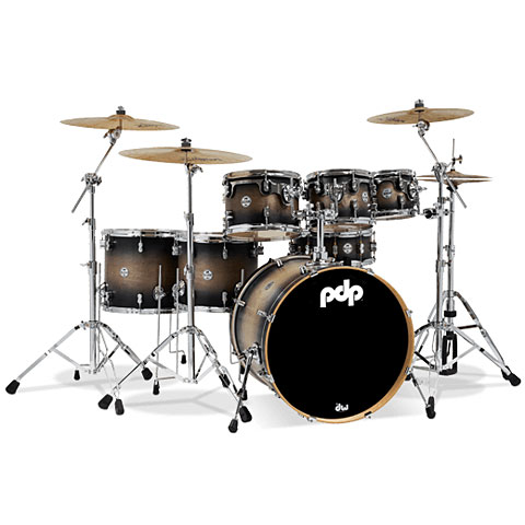 pdp Concept Maple CM7 Satin Charcoal Burst