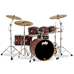 pdp Concept Maple CM7 Satin Tobacco Burst « Batterie acoustique