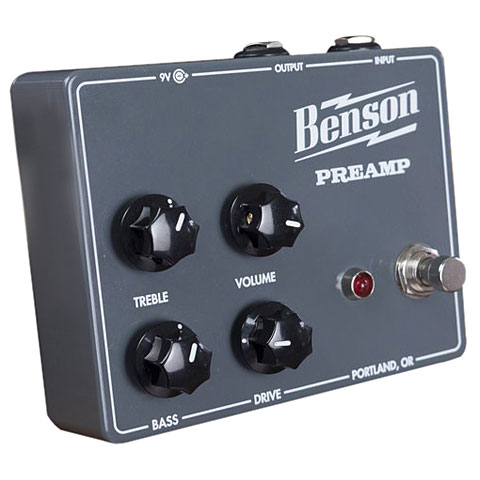 Effektgerät E-Gitarre Benson Preamp Pedal
