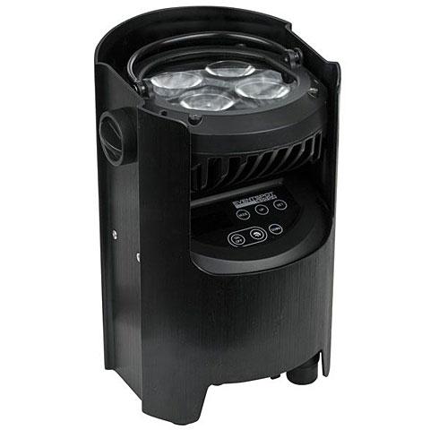 Luz de batería Showtec EventSpot 1600 Q4 bl