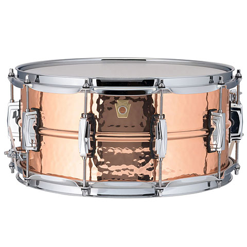 "Ludwig Copper Phonic 14""x 6,5"" Snare Drum With Imperial Lugs"