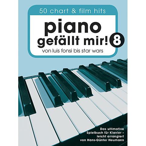 Libro de partituras Bosworth Piano gefällt mir! 8