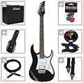 Ibanez GRG140-BKN, Marshall CODE25 « Pack guitare électrique