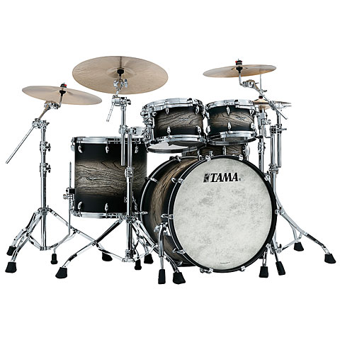 Tama Star 22  Satin Black Japanese Sen Burst
