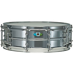 "Ludwig Supralite 15"" x 5"" Beaded Steel Snare Drum « Caja"