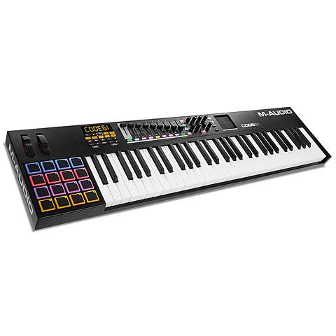 Master Keyboard M-Audio Code 61 black