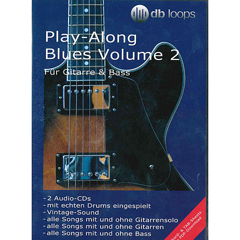 db Loops Play Along Blues Volume 2